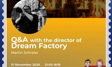 Q&A 'Dream Factory'