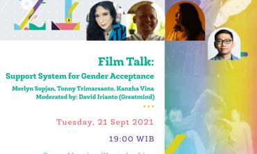 Film Talk: Support System for Gender Acceptance