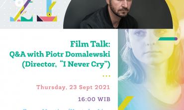 Film Talk: I Never Cry